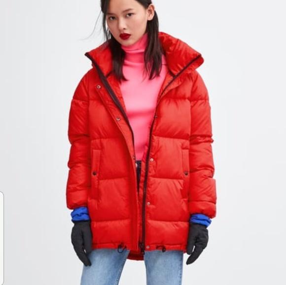 715e46d19 Zara Jackets & Coats | Sorona Dupont Thermal Fill Puffer Jacket ...